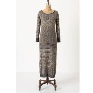 Anthro Multiburst Sweater Dress